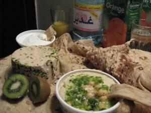 Mezze for Supper in Amman