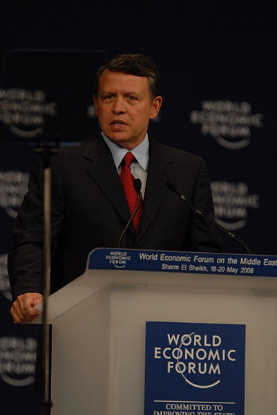 HM King Abdullah of Jordan c. 2008